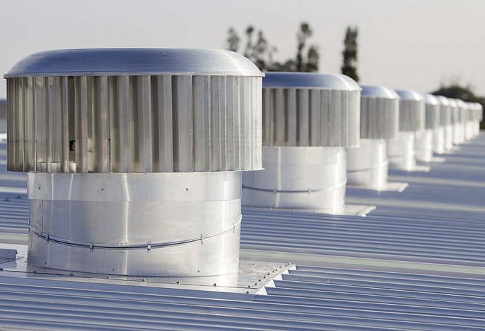 Whirlybird Roof Vents : Industrial roof ventilation whirlybird